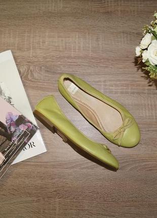 Annabelle! кожа! стильные туфли, комфортные балетки