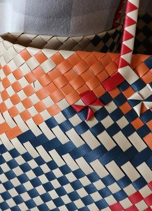 Плетеная сумка-шопер от mango4