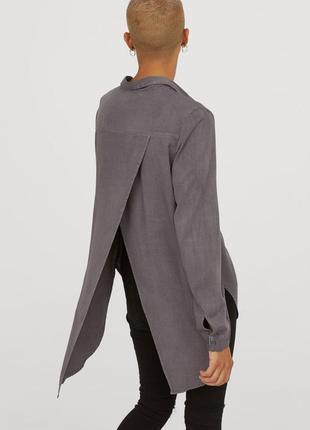 Рубашка из вискозы h&m