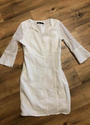 Платье прошва вышивка bcbg max azria