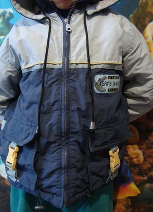 Зимняя куртка -парка game over на мальчика