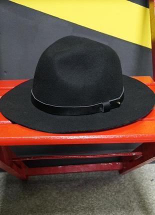 Классическая шерстяная шляпа ^федора^