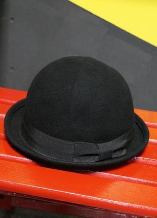 Классическая шерстяная шляпа (котелок)
