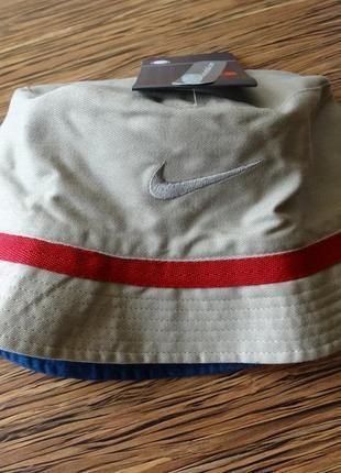 Оригинал двухсторонняя обратимая шляпа кеппи fc barcelona от nike унисекс4