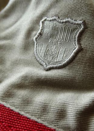 Оригинал двухсторонняя обратимая шляпа кеппи fc barcelona от nike унисекс5