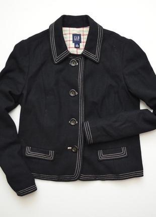 Шерстяное пальто куртка полупальто gap