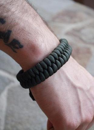 Чоловічий браслет із паракорда, мужской браслет