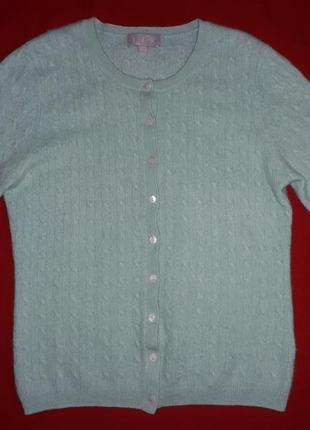 Кофта свитер на пуговицах j.f.w 100% кашемир