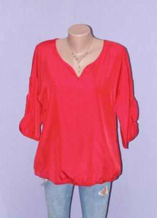 Красная, яркая блузочка