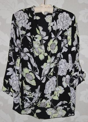 Актуальная блуза на запах dorothy perkins