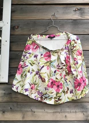 Кольорова спідниця (юбка в цветы) new look