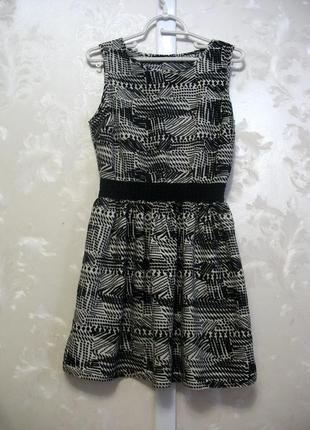 Платье с ажурным поясом atmosphere