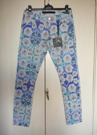 Стильные брюки silvian heach италия, р. xs. новые