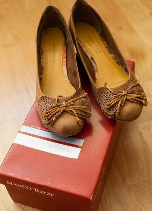 Туфли marco tozzi р. 39
