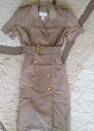 Платье в стиле милитари от petite sophisticate