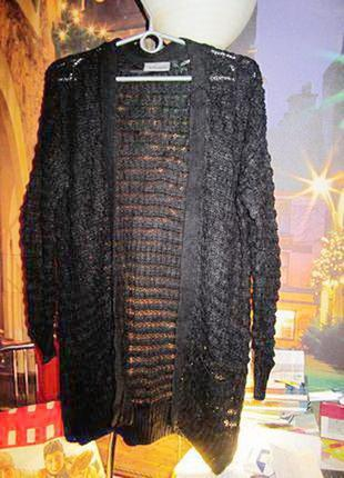 Нарядный кардиган в стиле оверсайз от французкого бренда kiabi woman. длина-83см.