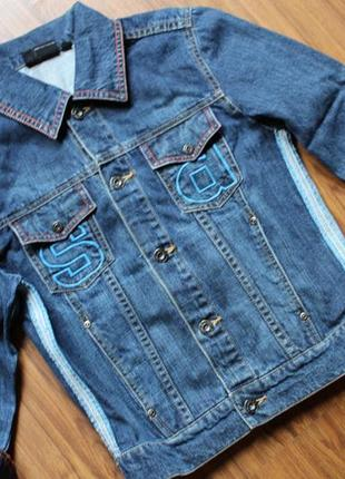 Куртка джинсовая 7-9лет