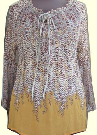 Элегантная блузка итальянского бренда nolita 100% шелк
