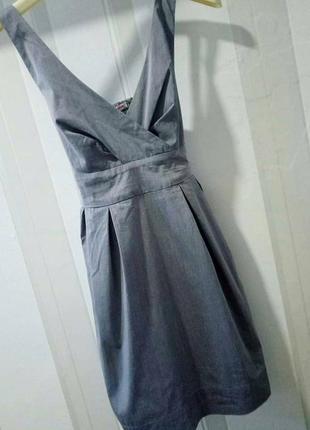 Маленькое серое платье tally weijl