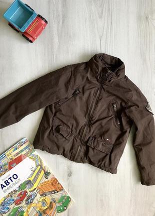 Демисезонная куртка, парка  tommy hilfiger на 4 года