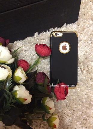 Красивый глянцевый силиконовый чехол на iphone 6/6s iphone 7