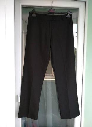 Брюки школьные m&s девочке 14-15лет, р.164, черные штаны, форма