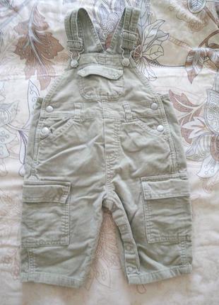 Комбинезон на мальчика 6-12 м
