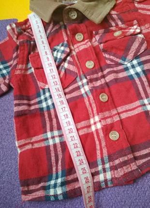 Рубашка 0-3мес