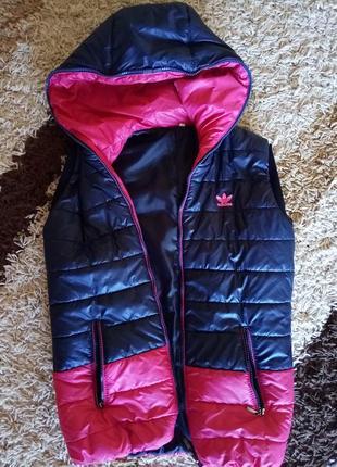 Болоньевая куртка от adidas