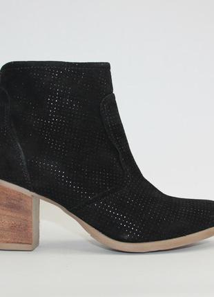 Ботинки tamaris оригинал германия натуральная замша 37р