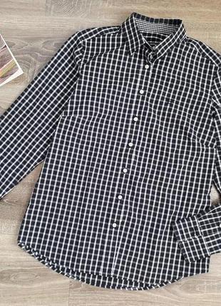 Женская бойфренд рубашка в клеточку от gant. оригинал. p.l-xl