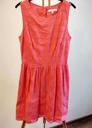Милейшее, розовое платьице new look