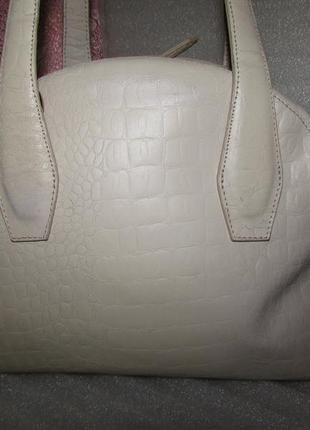 Большая сумка саквояж 100% натуральная кожа~top shop~