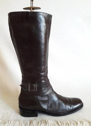 Отличные кожаные сапоги от otra costa ( италия) р. 38-39 стелька 25, 5 см