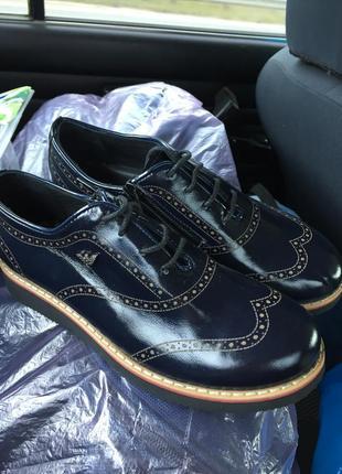 Туфли для мальчика armani по стельке 21см
