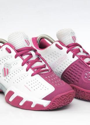 Кроссовки k-swiss 36,5-37 размер, кроссовки для тенниса, спортивные кроссовки, кеды