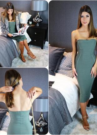 Бандажне плаття, шикарно лягає по фігурі