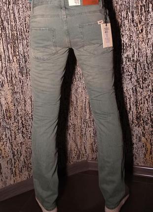 Оригинал джинсовые брюки оригинал jack & jones с потёртостями w31/l32