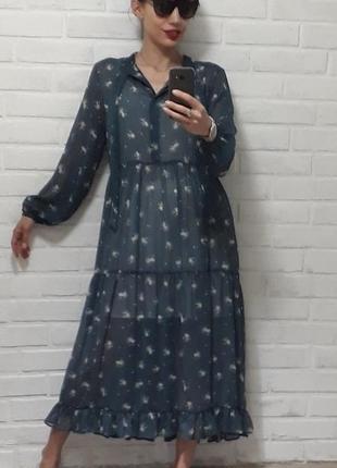 Платья с воланами Topshop 2019 - купить недорого вещи в интернет ... e5bd389bda5cd