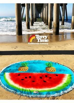 Хит из сша,покрывало для пляжа , полотенце  terry time