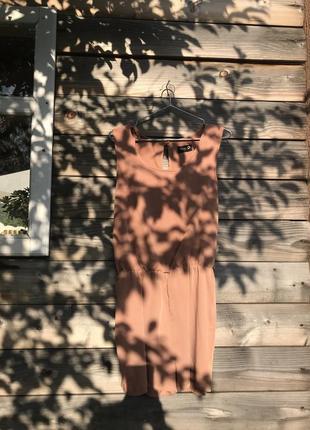 Модний персиковий комбінезон danity