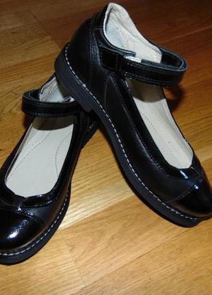 0db6c5cf0 Полностью натуральная кожа! школьные ортопедические туфли для девочки  32-36р.
