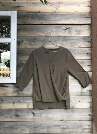 Блуза хакі new look