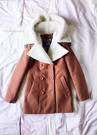 ♡  стильное коричневое пальто от asos ♡