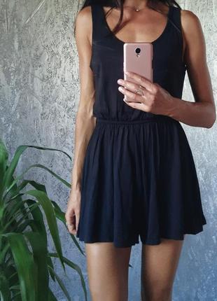 Платье ромпер комбинезон шорты