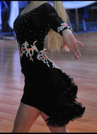 Платье латина для танцев