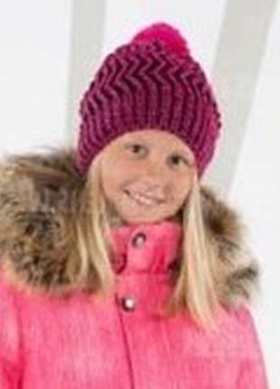 Зимняя шапка lenne renac 18389 261 54р малиновая