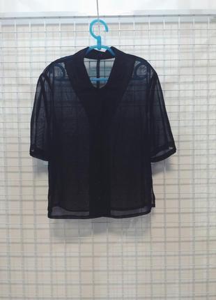 Очень красивая чёрная блуза