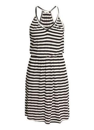 Сарафан вискоза полоска  платье h&m