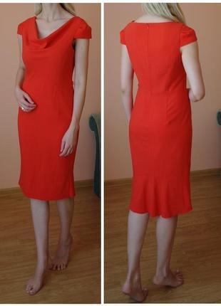 Платье футляр миди